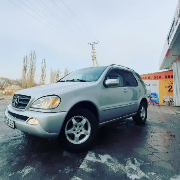 Mercedes-Benz в Кыргызстан: Mercedes-Benz ML 320 3.2 л. 2002
