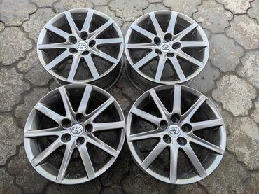 купить диски для машины в Кыргызстан: Оригинальные диски toyota,lexusдиаметр r17сверловка 5*114.3ширина 7.0j