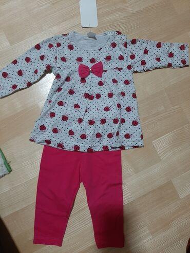 Decije haljine - Krusevac: Kompletic za godinu dana. Novo