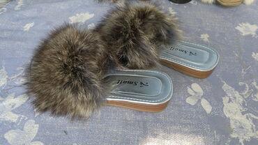 Krzno - Srbija: Nove papuče sa pravim krznomPreostale veličina 36 gazište 23,5cm.Pravo