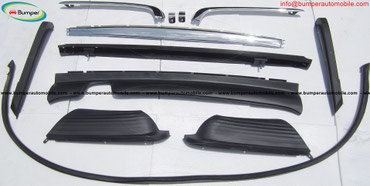 Mercedes W107 ( R107,280SL, 380SL, 450SL ) bumpers stainless steel in Bhadrapur