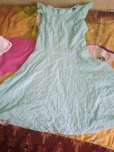 Летнее платье на 15 лет мли размер S 300 сомБелые джинсы размер S 500