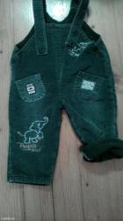 Termo-pantalone - Srbija: Termo zelene tregerice,duzina od izmedju nogu do kraja je 24
