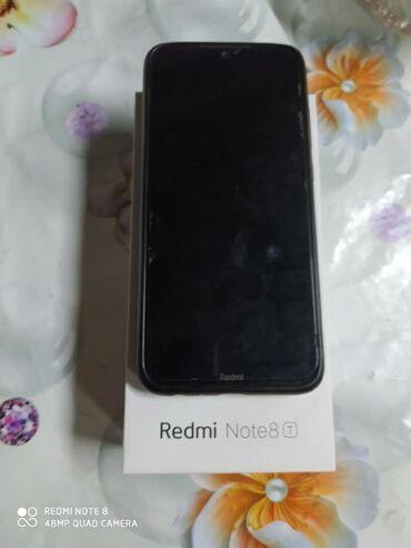 Электроника - Байтик: Xiaomi Redmi Note 8 | 64 ГБ | Черный | Сенсорный, Отпечаток пальца, Две SIM карты