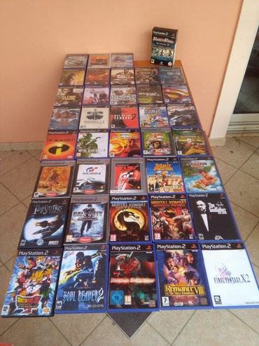 40 PS2 GAMES!!! σε Athens