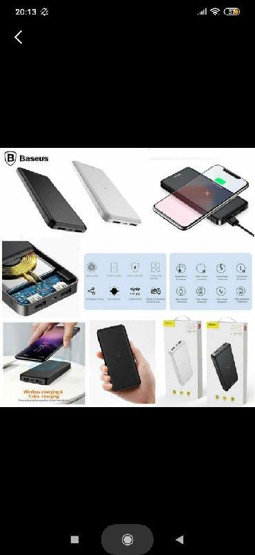 Baseus wireless charger power bank pover bank 10000 mah