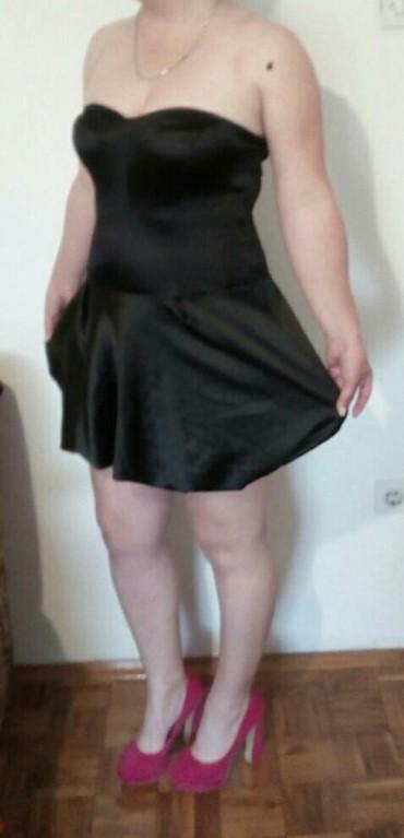 Haljine | Obrenovac: Top crna haljinica, 2 puta obucena. velicina univerzalna, rastegljiva