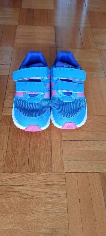 Adidas patike za devojcice, malo nosene kao sto se vidi, velicina 25,5