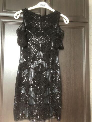 нарядные платья на свадьбу в Кыргызстан: Красивое черное нарядное платье в пайетках.Брала свадьбу за 4000 сом