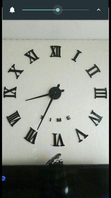 Sumqayıt şəhərində Dekor 3D Divar Saat..Yeni..qutuda..mexanizm batareykanan iwleyir..cox