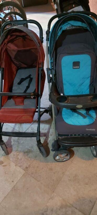 Детский мир - Милянфан: Коляска бордовая 3500с, голубая с серым 2000с очень легкие и удобные