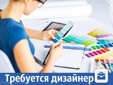 Требуется дизайнер: Требования: Отличные знания Adobe Illustrator и в Бишкек