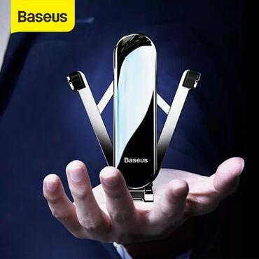 Baseus firmasinin original yeni mehsulu telefon tutacaq holder (2020)▶