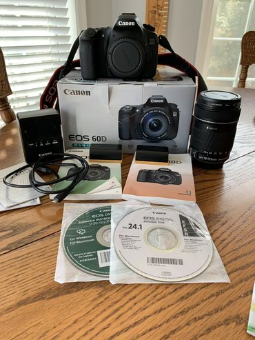 Canon 60D 18.0MP Digital SLR Camera -(Kit w/ EF-S IS 18-135mm) W/extra σε Astypalaia