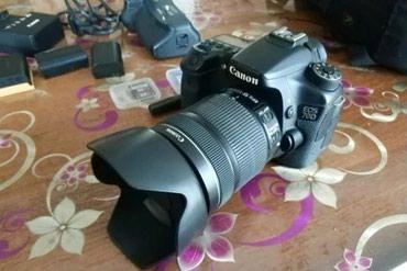 зеркальный фотоаппарат canon eos 70d body в Азербайджан: Canon eos 70D+18-135mm obyektiv+grip+sumka ela veziyyetde. Probegi hec