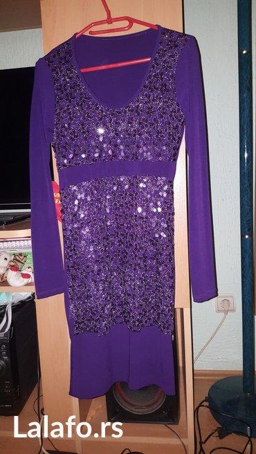 Haljina univerzalna velicina, jako lepo stoji jednom obucena, ljubicas - Kostolac