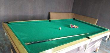 billiard - Azərbaycan: 3 ədədbilyard masasi satilir.kileri ve şarlari yerindedir.3 bilyard 2