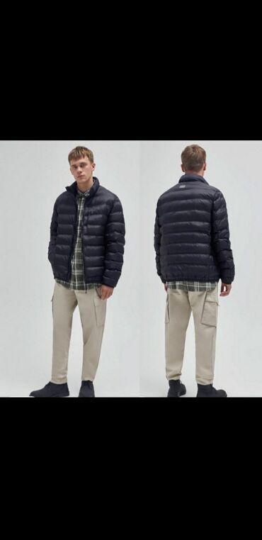 Куртка L, XL супер лёгкая и тёплая Pull&bear Турция. 100%