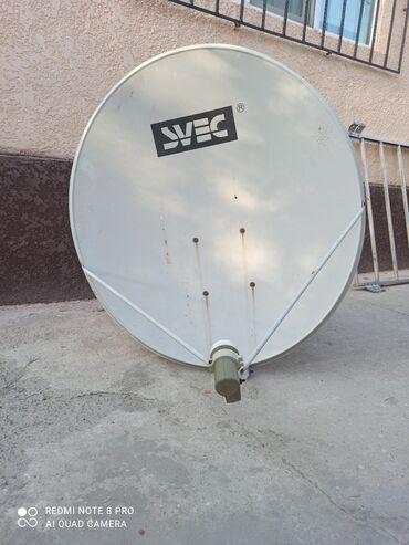 Барабаны - Кыргызстан: Спутниковое антенна с ресивером (svec)