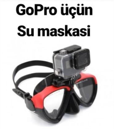 gopro в Азербайджан: Gopro ucun su maskasi mehsul yenidir. elaqe saxlayib maraqlana