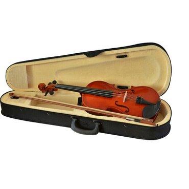 скрипки новые 4/4 полный размерстоят 4 машинка для тонкой настройки  в Бишкек