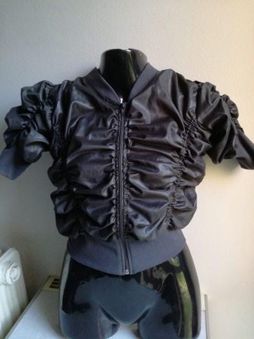 Top jaknica+poklon brus prelep,siva,nova,broj 38,100%pamuk - Beograd - slika 2