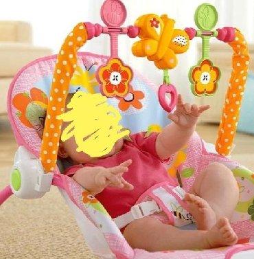 Njihalica i stolicica za bebePodesite sedište uspravno, tako da