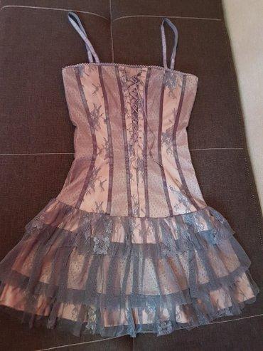 Красивое платье,размер 42-44,одели один раз в Лебединовка