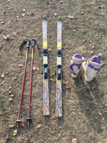 линзы шаринган бишкек в Кыргызстан: Продаю б/у комплект лыж. Цена за весь комплект . Также продам по