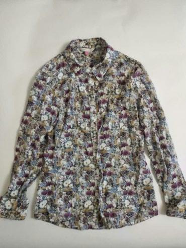 Рубашка на девочку Размер: 10 лет SELA В отличном состоянии в Бишкек