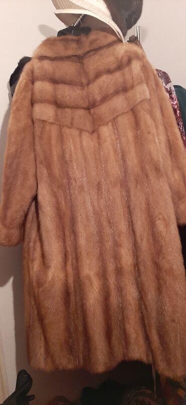 женское платье 56 в Кыргызстан: Норковая шуба,(oversize)56. Произ-во Германия