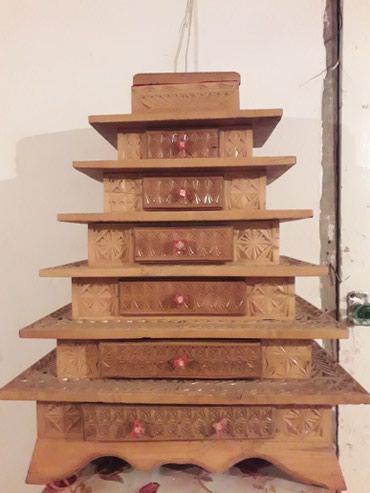 7 этажная шкатулка в Каракол