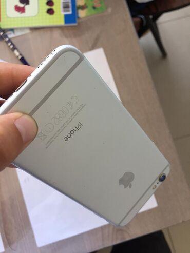 айфон 6 плюс цена in Кыргызстан | APPLE IPHONE: IPhone 6 | 16 ГБ | Серебристый Б/У