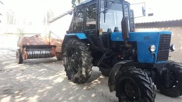 Трактор Мтз 82.1 Прессподборщик сокосу в Ноокат