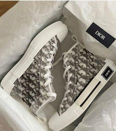 кий продажа в бишкеке в Кыргызстан: Продаю новые стильные кеды от Dior, люкс реплика. Размер 41, очень