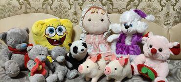 6595 объявлений: Продам мягкие игрушки в хорошем состоянии б/у не большие и маленькие
