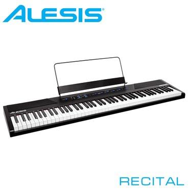 piano satisi в Кыргызстан: Фортепиано цифровое Alesis Recital.Alesis Recital - компактное и
