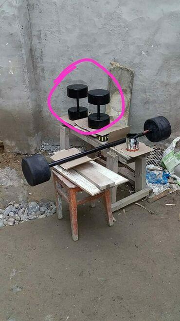 Гантели - Азербайджан: Beton Qanteller keyfiyyetine söz ola bilmez Norm400 marka sementden