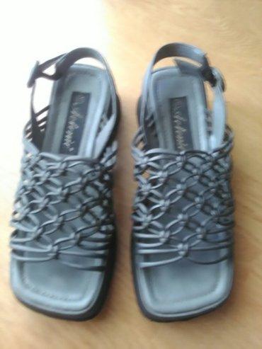 Sandale jako udobne u sivoj boji.Velicina 37 - Bajina Basta