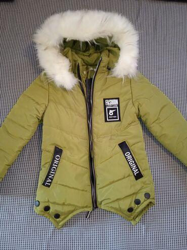 Бодики для мальчика - Кыргызстан: Куртки для девочек зимние 6-7-8 лет.Деми куртки для мальчиков от 3