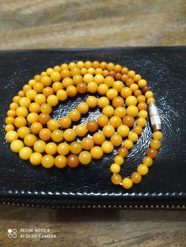 квартира за 10000 в месяц in Кыргызстан | СНИМУ КВАРТИРУ: Продаю бусы натуральный,настоящий королевский янтарь.новые