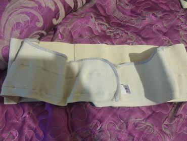 бондаж для беременных в Кыргызстан: Продаю пояс - бондаж для беременных размер 3 и корсет - размер xl. Все