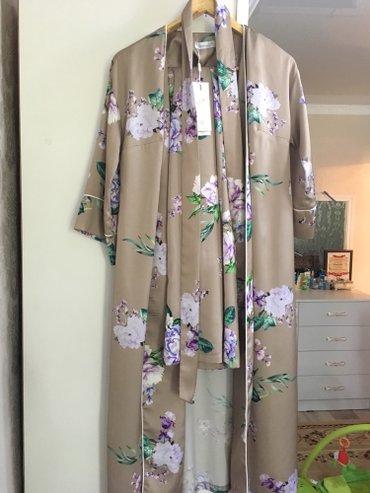 Продаю костюм тройка ткань шелк шикарное размер 38 наш 46  в Кок-Ой
