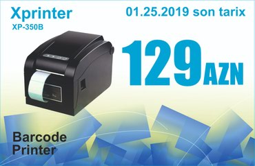 Bakı şəhərində Barkod Printeri X-Printer 350B