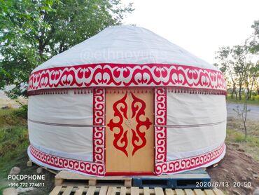 Юрты - Кыргызстан: Юрта 5м.Каркас металлический.Покрытие 4 слойный.Утеплённый