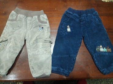 2 para termo pantalonice postavljene br.1,potpuno nove kao na - Zagubica