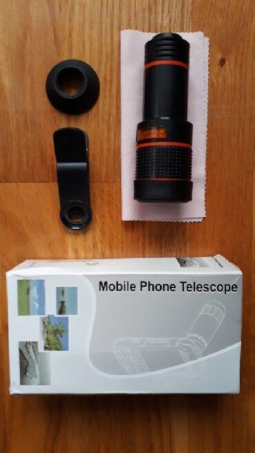 Foto i video oprema | Srbija: Objektiv za telefon. Lak i praktičan za sve prilike.Lako se montira