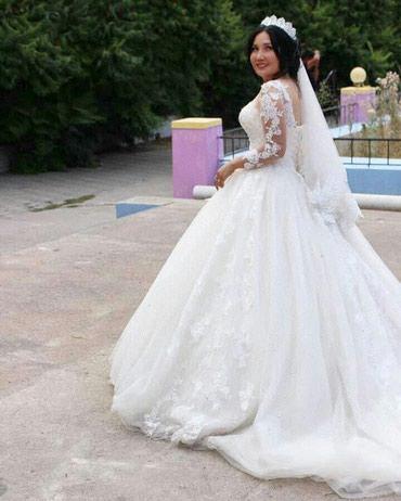 Продаю или сдаю на прокат свадебное платье, пышная со шлейфом. Цвет