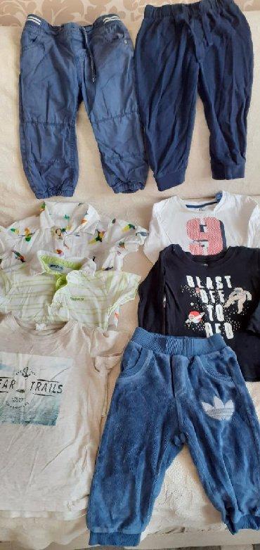 английские детские вещи в Азербайджан: Пакет вещей чистый хлопоквещи без мятен98/100размер на 18/24