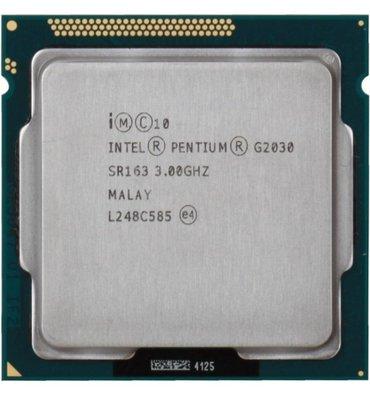 Pentium® G2030 (3M Cache, 3.00 GHz) lga1155. Отличное состояние, в Бишкек